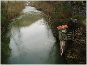 Estación en el río Cares
