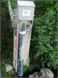 Estación en el río Esva