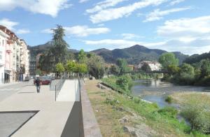 Nuevo acceso río Piloña