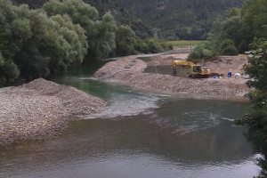 Ordenación del río Deva en Panes