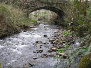 Río Agüeira en Santa Eulalia