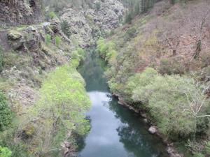 Río Agüeira en El Pontigón