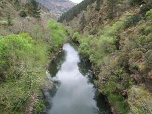 Río Agüeira en Pesoz