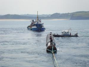Emisario submarino de Xagó
