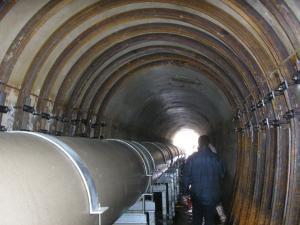 Refuerzo del túnel de la térmica
