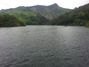 Embalse de Doiras (Asturias)